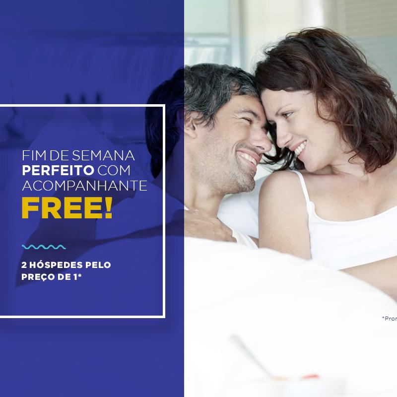 Promoção Acompanhante Free!