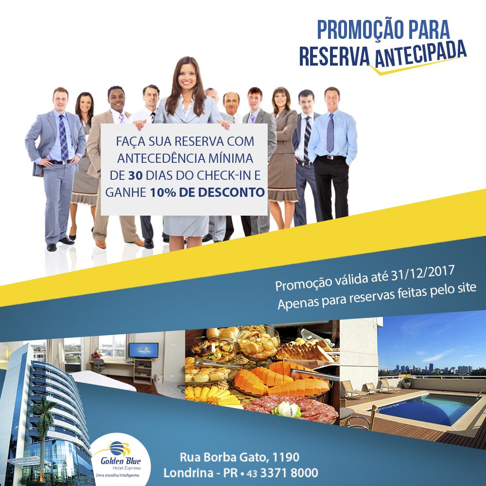 Promoção Reserva Antecipada